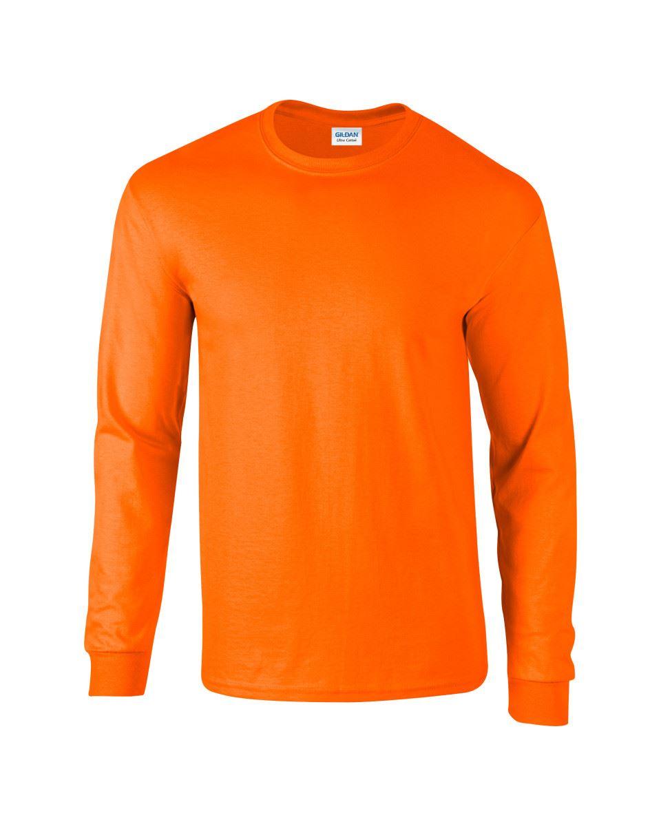 Gildan-Mens-Ultra-Cotton-Adult-Long-Sleeve-Plain-T-Shirt-Tshirt-Cotton-Tee-Shirt thumbnail 105