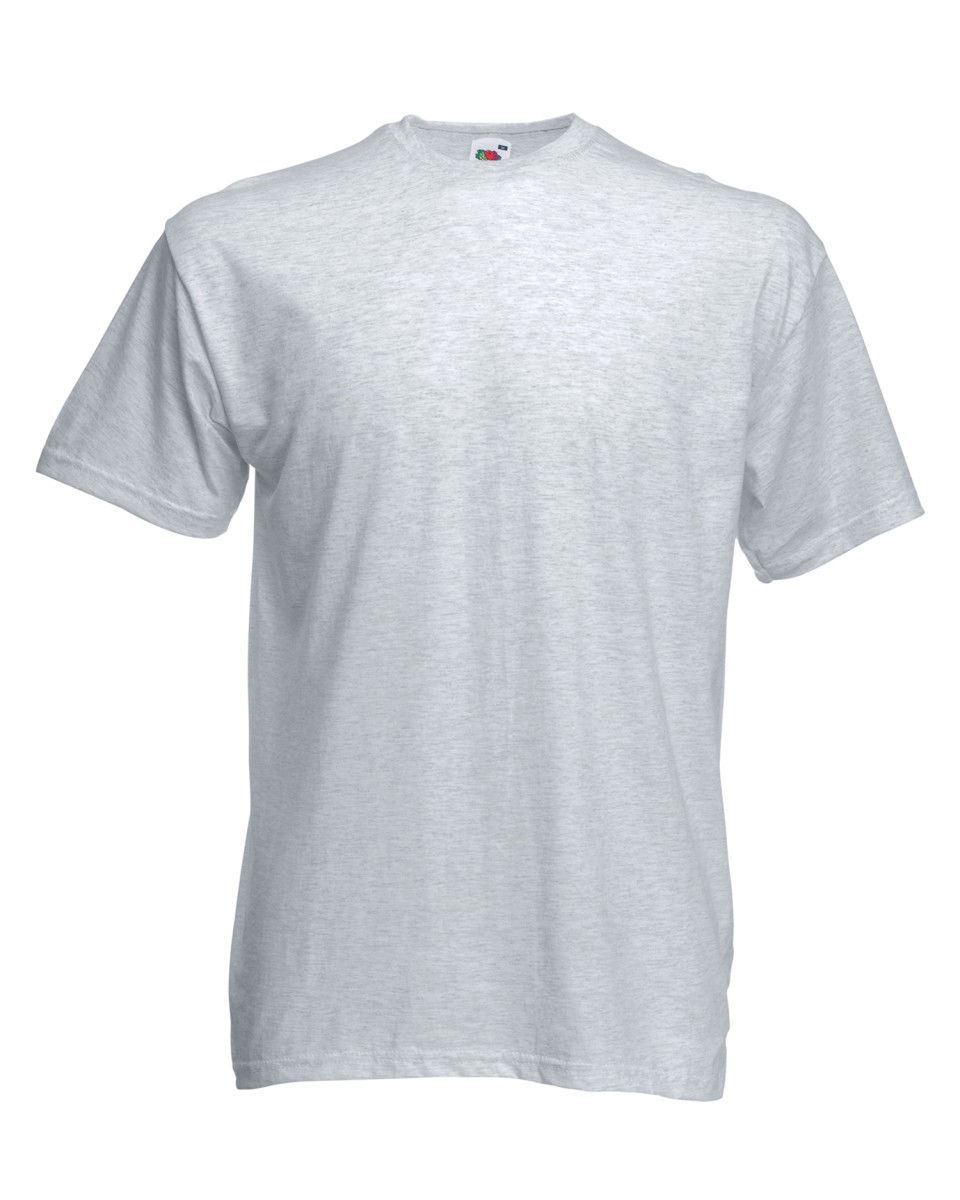 Fruit-Of-The-Loom-Mens-Womens-Valueweight-Plain-Crew-Neck-T-Shirt-Tee-Cotton thumbnail 22