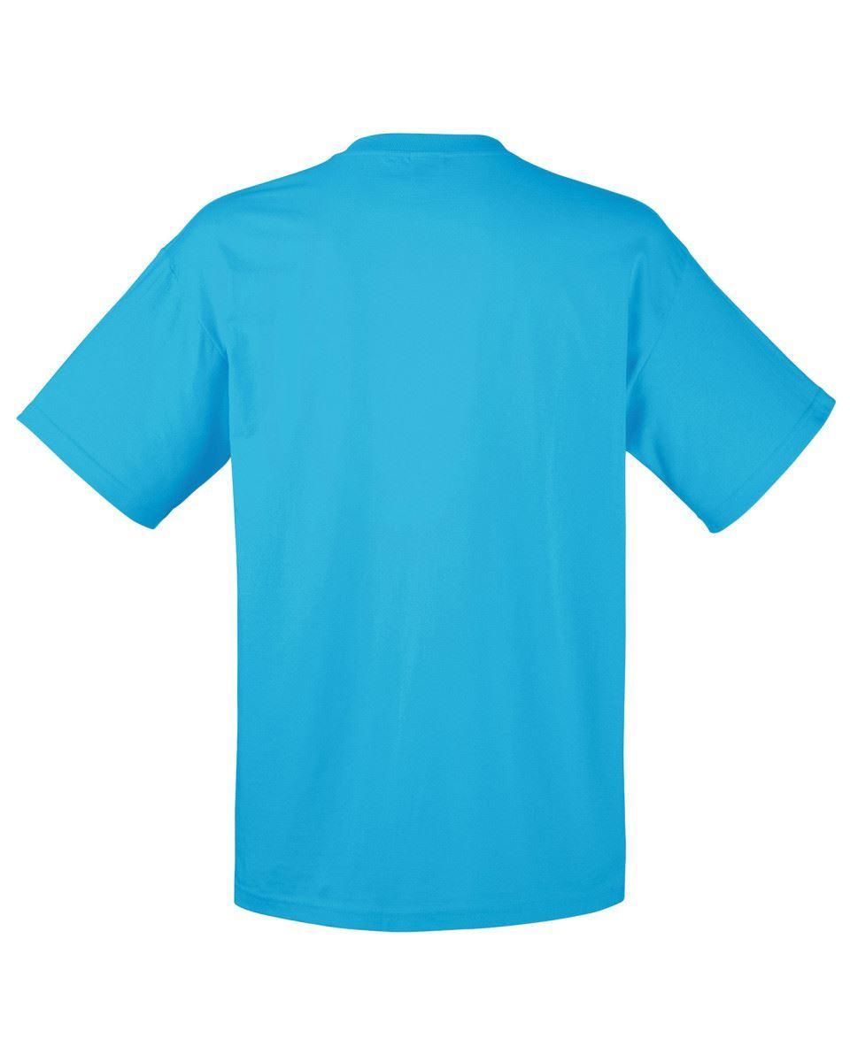 5-Pack-Men-039-s-Fruit-of-the-Loom-Plain-100-Cotton-Blank-Tee-Shirt-Tshirt-T-Shirt thumbnail 39