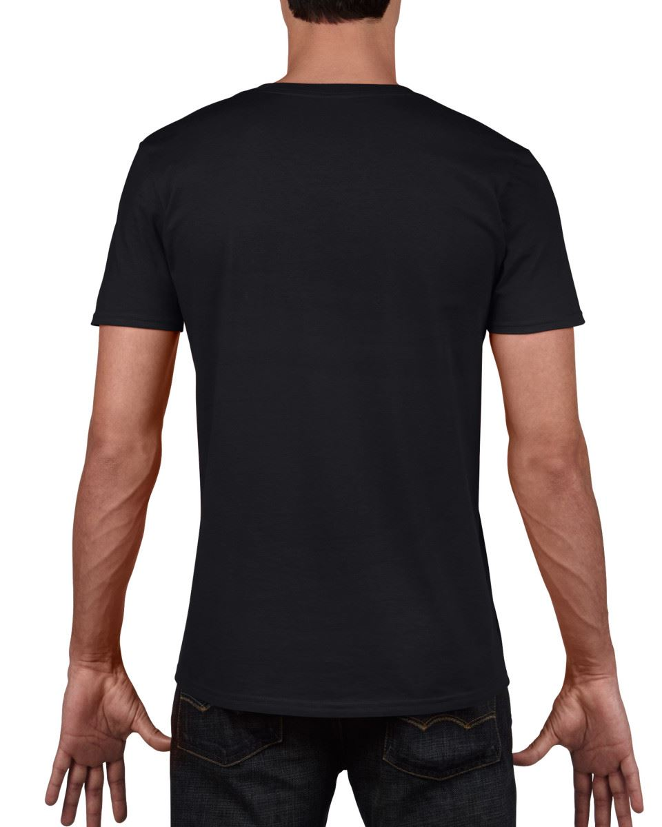 Gildan-Mens-Men-039-s-Soft-Style-Plain-V-Neck-T-Shirt-Cotton-Tee-Tshirt thumbnail 9