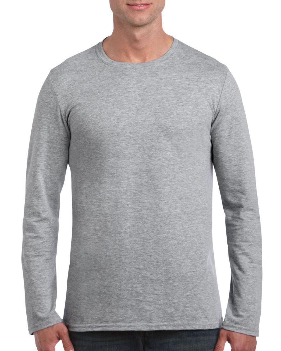 Gildan-MEN-039-S-LONG-SLEEVE-T-SHIRT-SOFT-COTTON-PLAIN-TOP-SLEEVES-CASUAL-NEW-S-2XL thumbnail 42