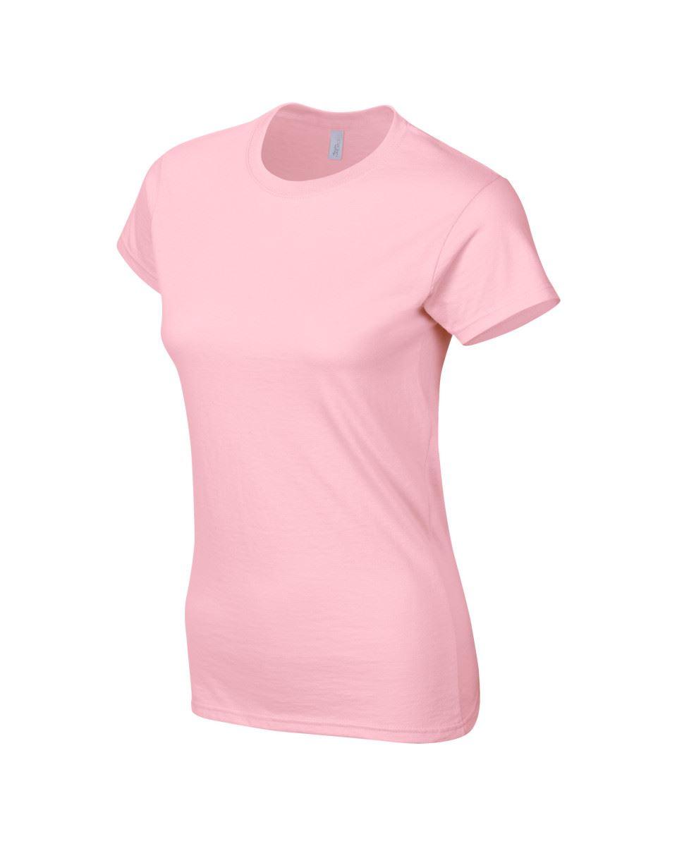 Gildan-Womens-Ladies-Soft-Style-Plain-V-Neck-T-Shirt-Cotton-Tee-Tshirt thumbnail 108
