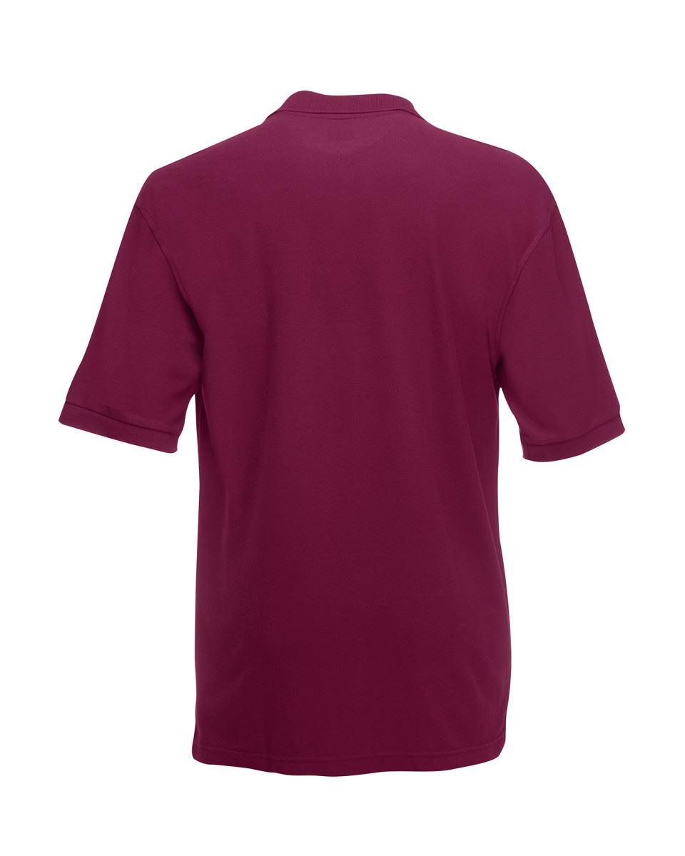Mens-Polo-Shirts-Fruit-of-the-Loom-Premium-Polo-100-Cotton-Polo-Shirt-SS255 thumbnail 13