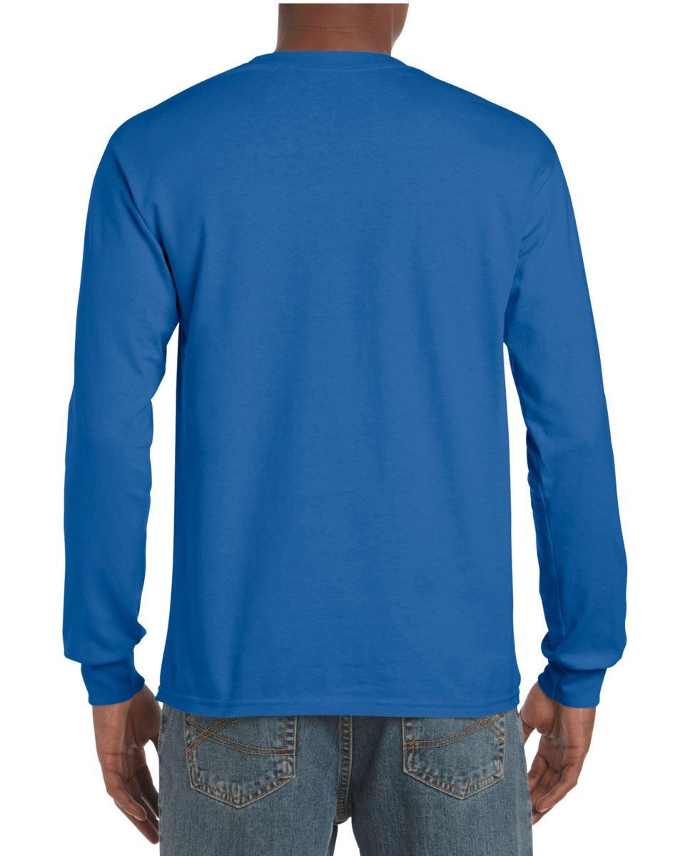 Gildan-Mens-Ultra-Cotton-Adult-Long-Sleeve-Plain-T-Shirt-Tshirt-Cotton-Tee-Shirt thumbnail 29