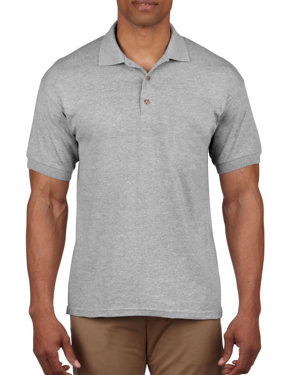 5-Pack-Gildan-Ultra-Cotton-Adult-Pique-Plain-Polo-Shirt-Tee-T-Shirt-Ringspun thumbnail 66
