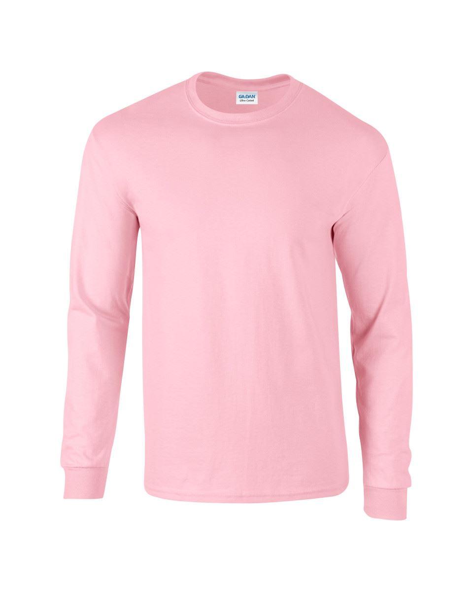 Gildan-Mens-Ultra-Cotton-Adult-Long-Sleeve-Plain-T-Shirt-Tshirt-Cotton-Tee-Shirt thumbnail 85