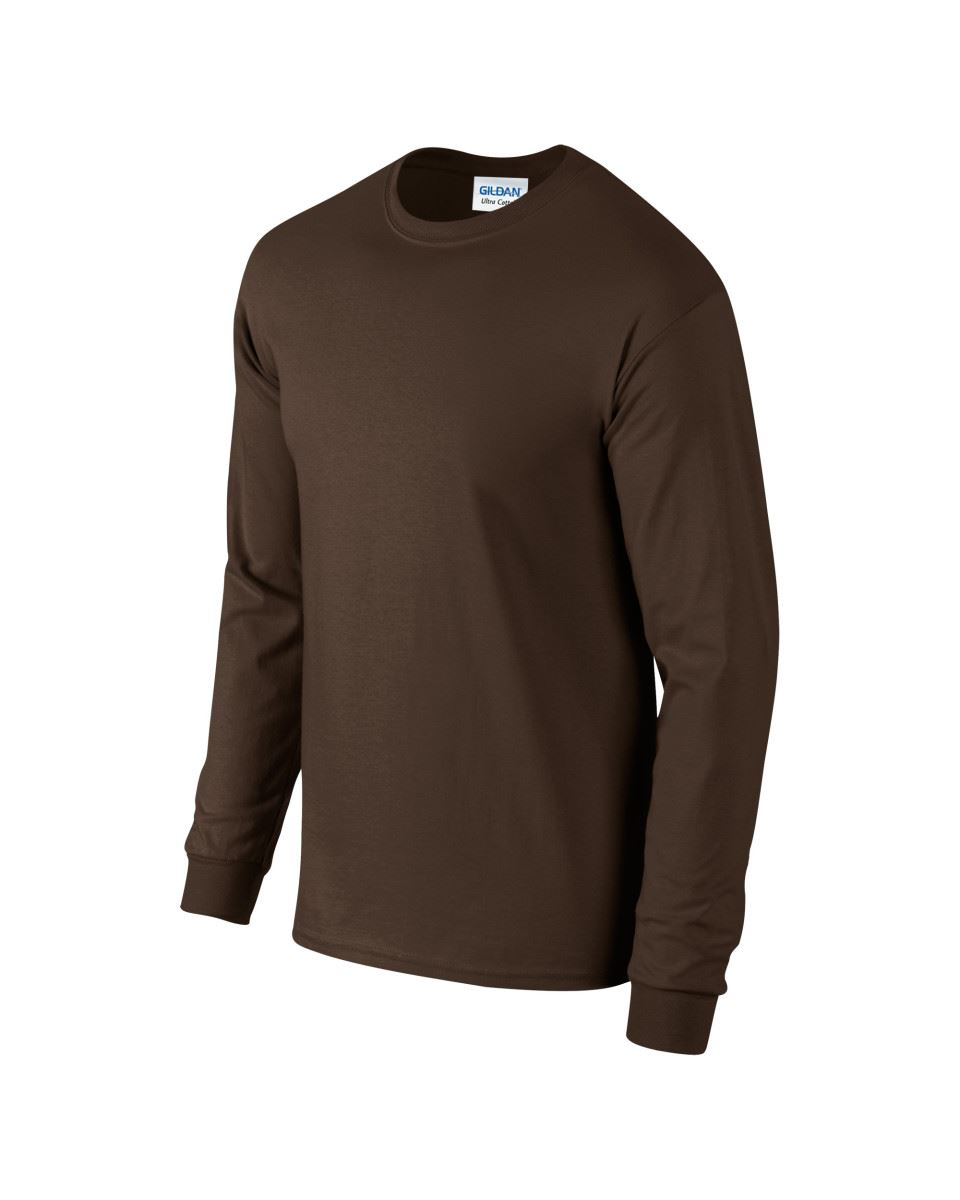 Gildan-Mens-Ultra-Cotton-Adult-Long-Sleeve-Plain-T-Shirt-Tshirt-Cotton-Tee-Shirt thumbnail 56