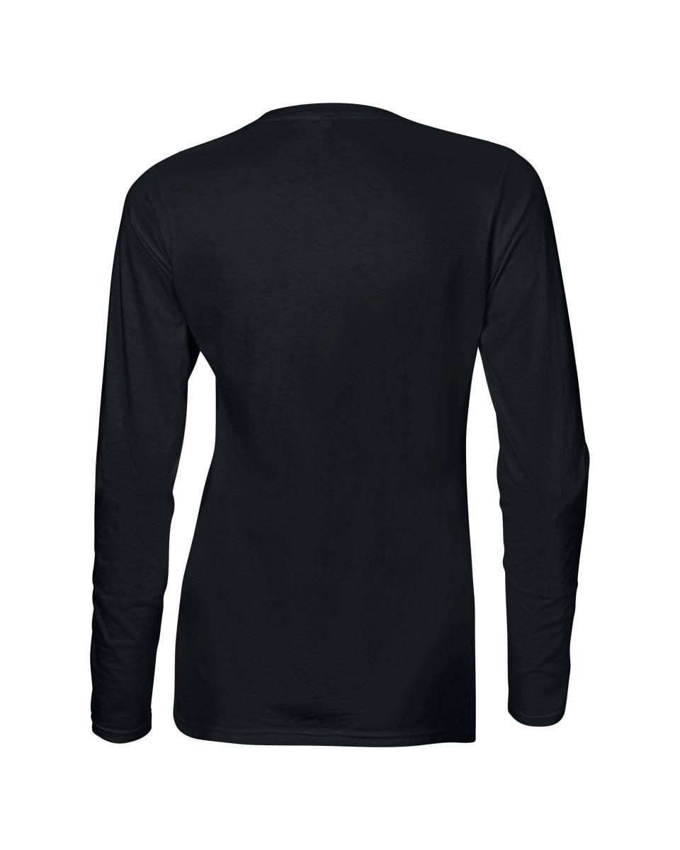 GILDAN-softsyle-Femmes-T-shirt-homme-a-manches-longues-100-Coton-Doux-Decontracte-Femme miniature 11