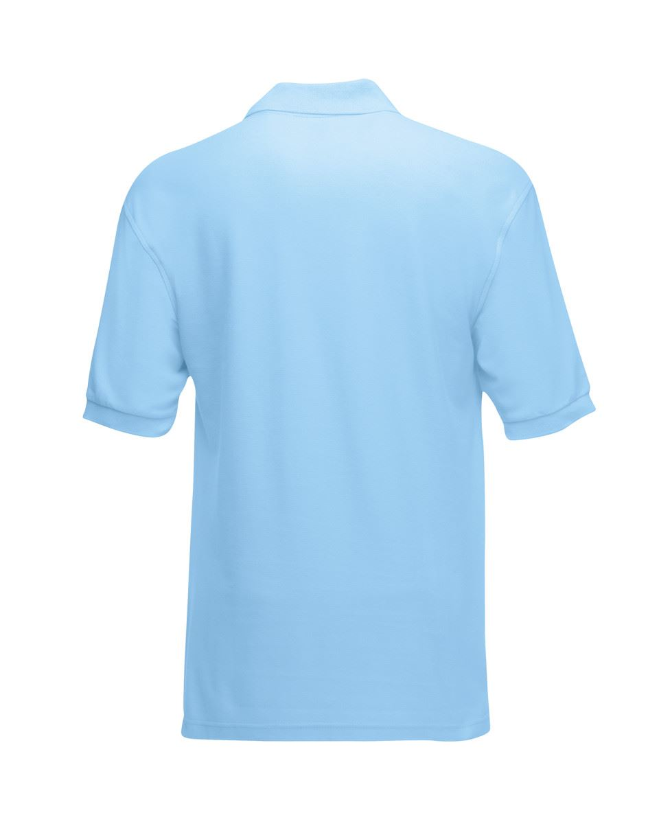 Mens-Polo-Shirts-Fruit-of-the-Loom-Premium-Polo-100-Cotton-Polo-Shirt-SS255 thumbnail 43