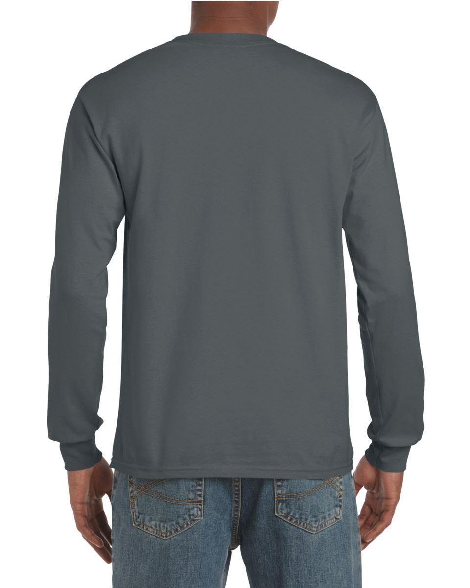 Gildan-Mens-Ultra-Cotton-Adult-Long-Sleeve-Plain-T-Shirt-Tshirt-Cotton-Tee-Shirt thumbnail 49