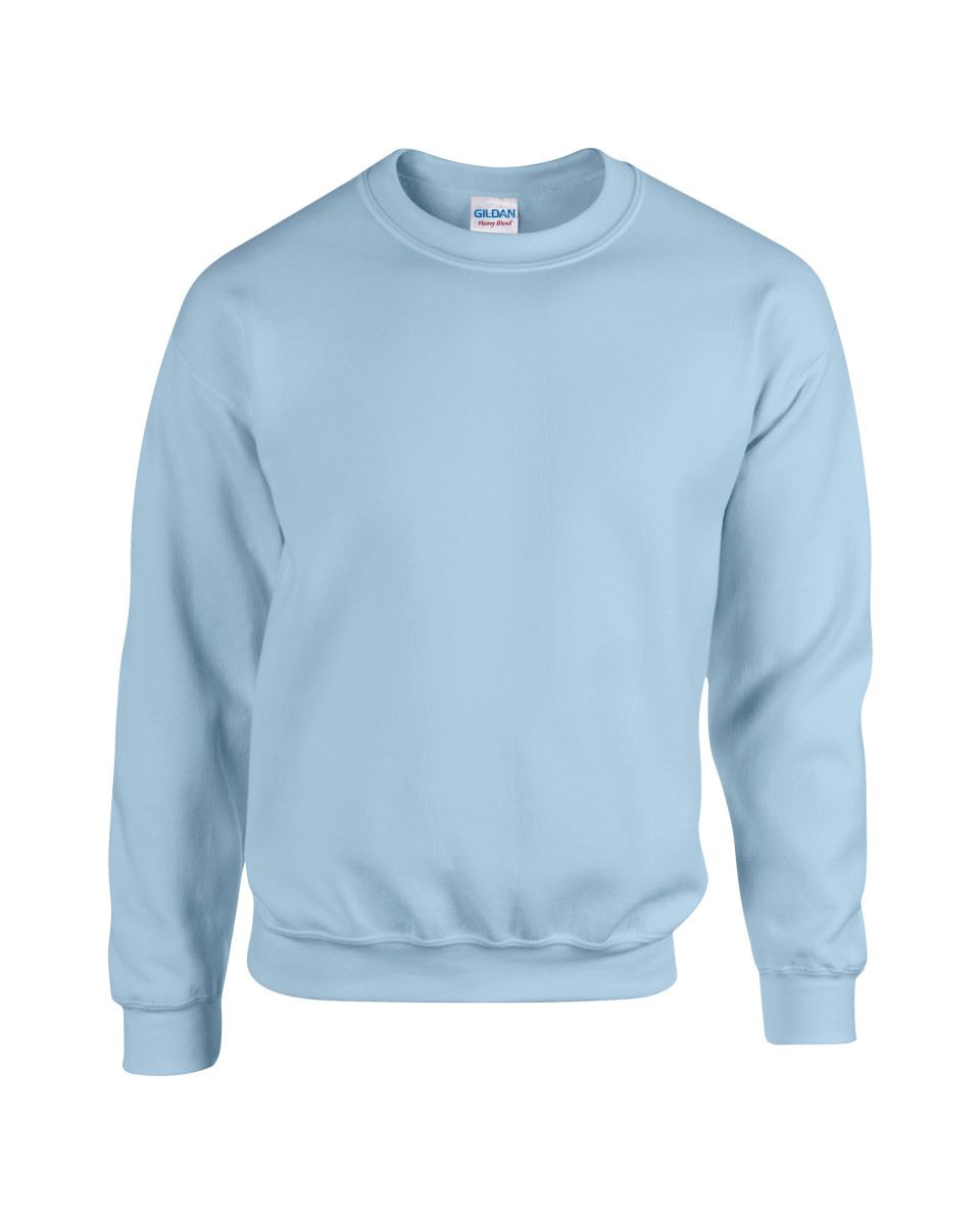 Gildan-Heavy-Blend-Adult-Crew-Neck-Pullover-Sweatshirt-Sweater-Workwear-Uniform thumbnail 109
