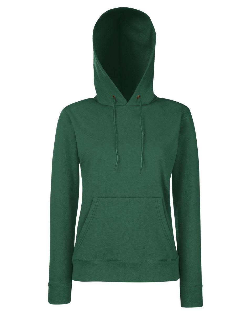 Details about Fruit Of The Loom Ladies Lady Fit Classic Hooded Sweat Hooded Sweatshirt