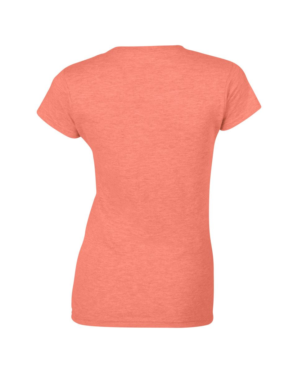 Gildan-Womens-Ladies-Soft-Style-Plain-V-Neck-T-Shirt-Cotton-Tee-Tshirt thumbnail 72