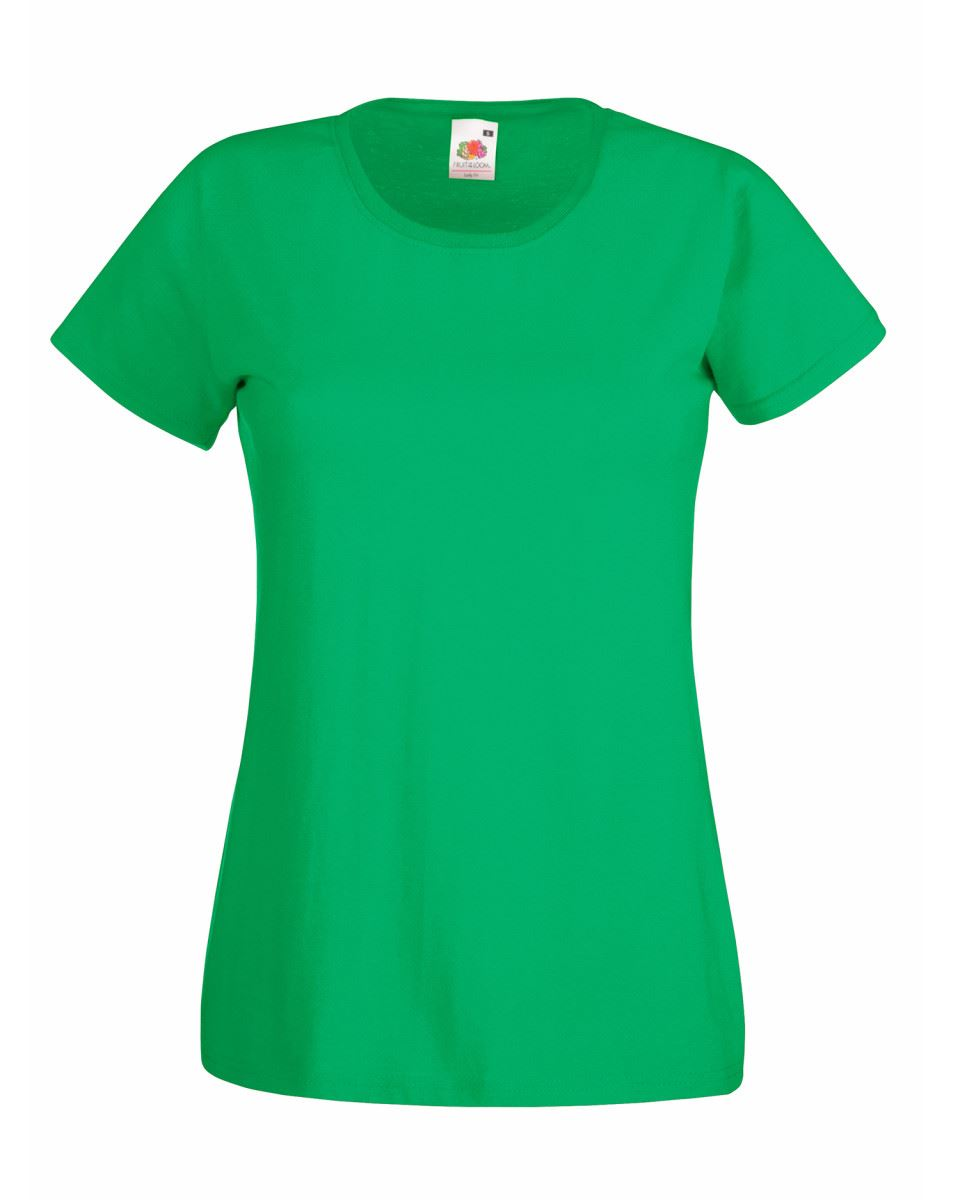 Fruit-of-the-Loom-Womens-Lady-Fit-T-Shirt-Valueweight-Plain-Blank-T-Shirt-Top thumbnail 18