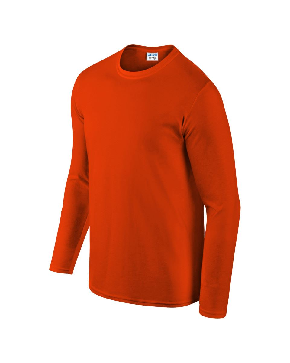 Gildan-MEN-039-S-LONG-SLEEVE-T-SHIRT-SOFT-COTTON-PLAIN-TOP-SLEEVES-CASUAL-NEW-S-2XL thumbnail 25