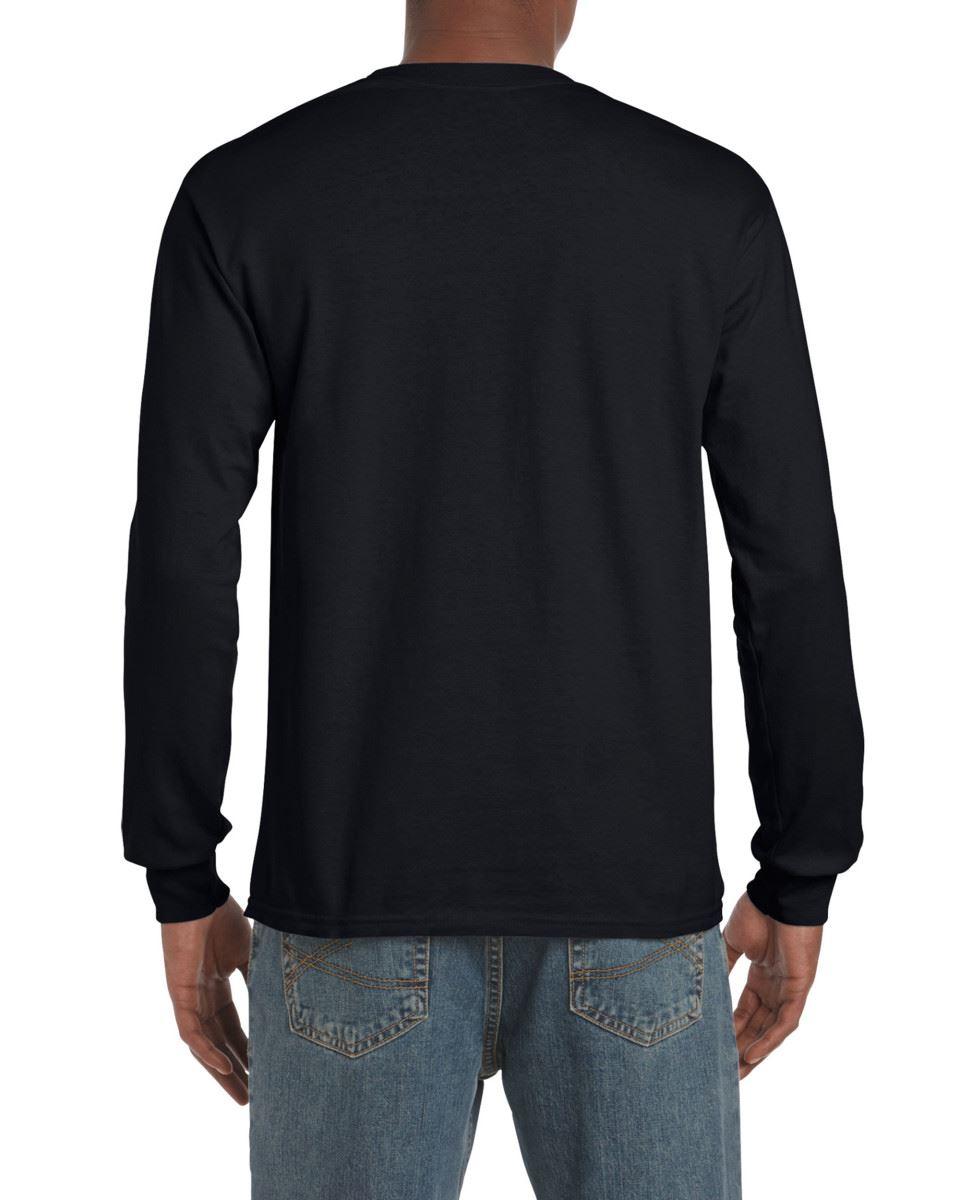 Gildan-Mens-Ultra-Cotton-Adult-Long-Sleeve-Plain-T-Shirt-Tshirt-Cotton-Tee-Shirt thumbnail 9