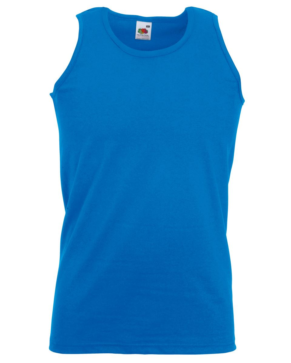 Fruit-of-the-Loom-Plain-Mens-Tank-Tops-Athletic-Vest-Gym-Training-Sports-T-Shirt thumbnail 12