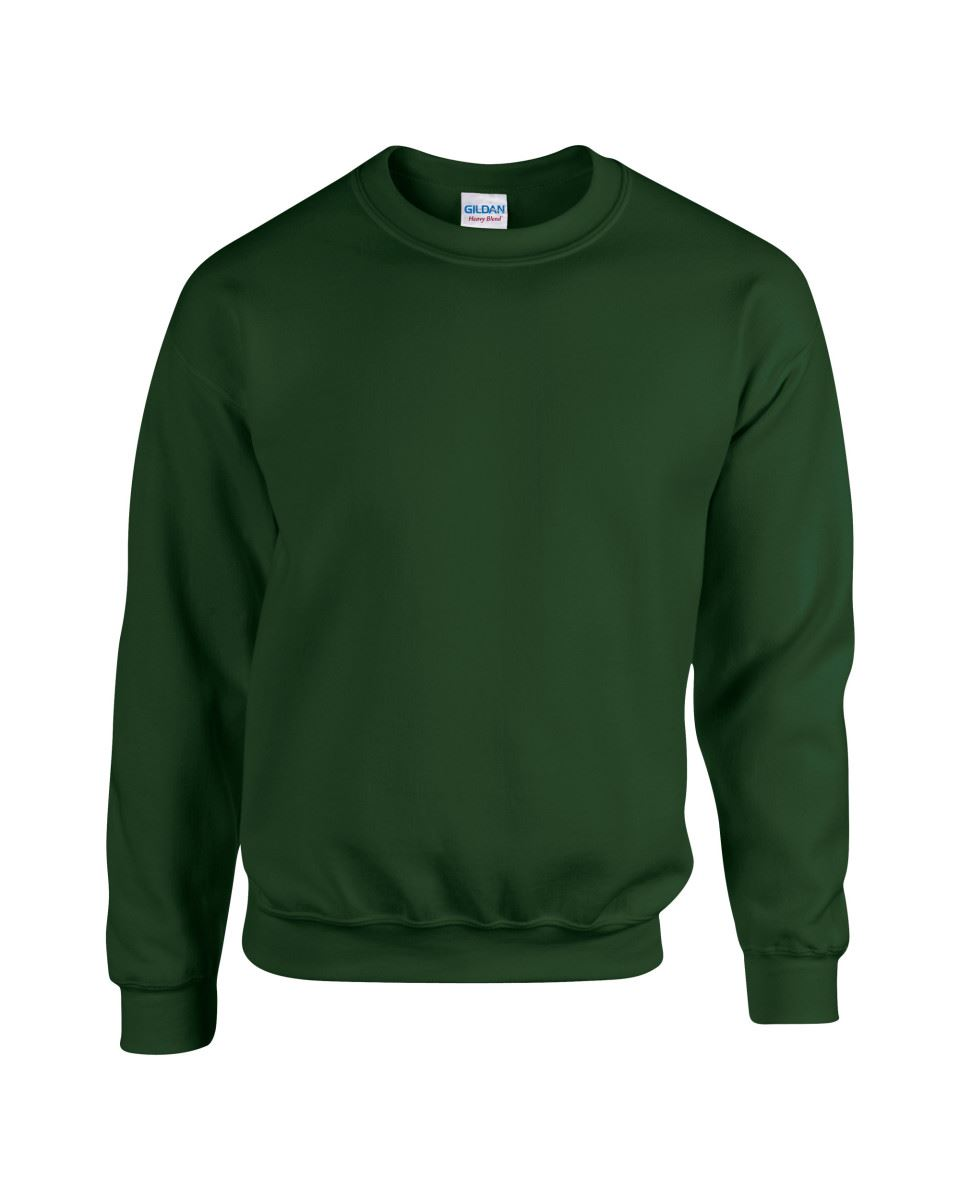Gildan-Heavy-Blend-Adult-Crew-Neck-Pullover-Sweatshirt-Sweater-Workwear-Uniform thumbnail 72