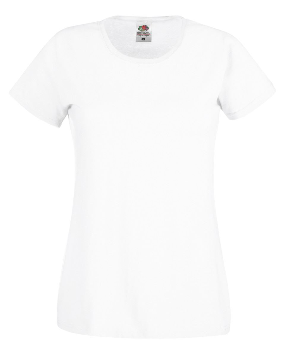 Fruit-Of-The-Loom-Plain-White-Cotton-Men-Women-Children-Cheap-Tee-T-Shirt-Tshirt thumbnail 6