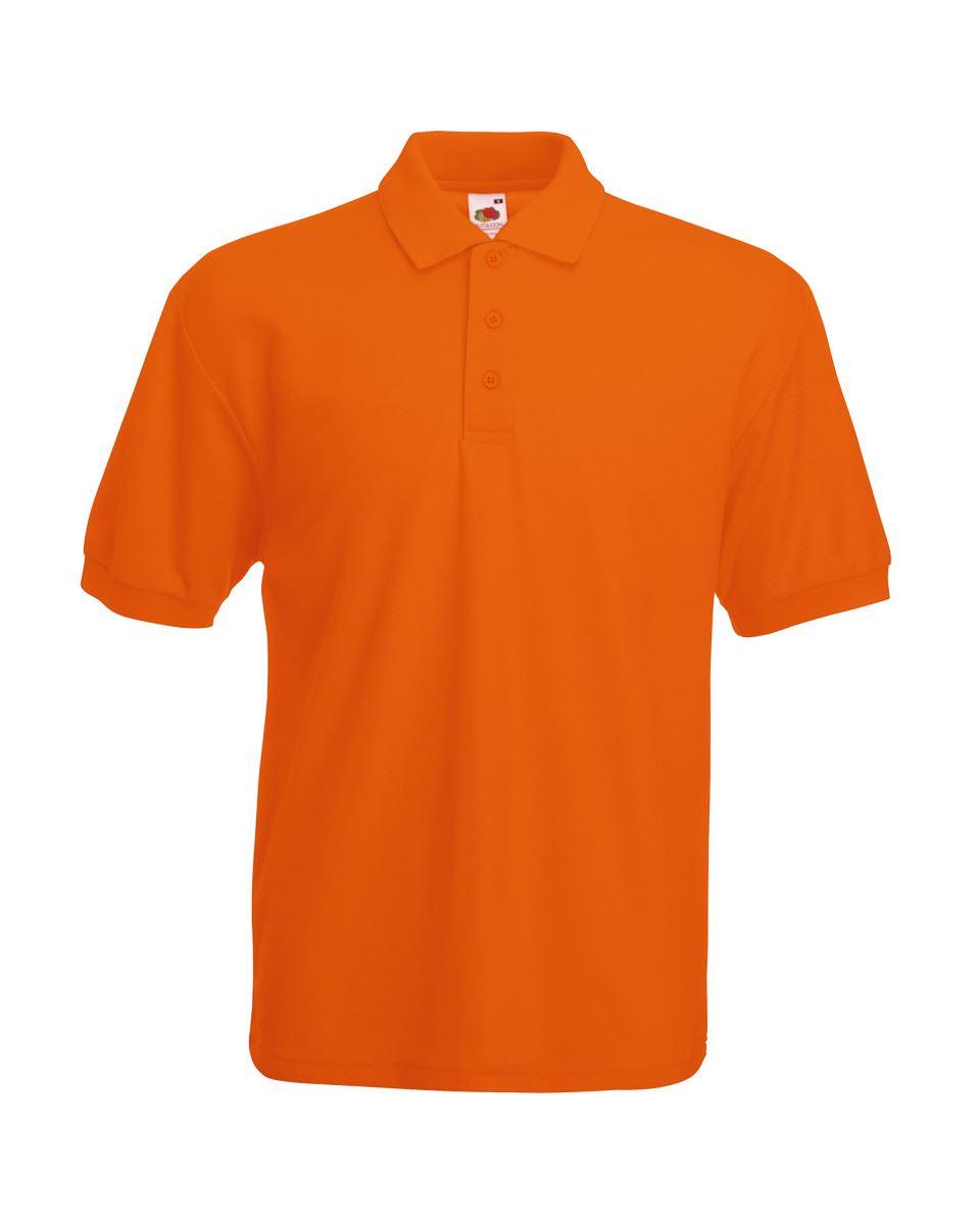 Fruit-of-the-Loom-Plain-Cotton-Mens-Polo-Shirts-T-Shirt-Short-Sleeve-Tshirt thumbnail 18