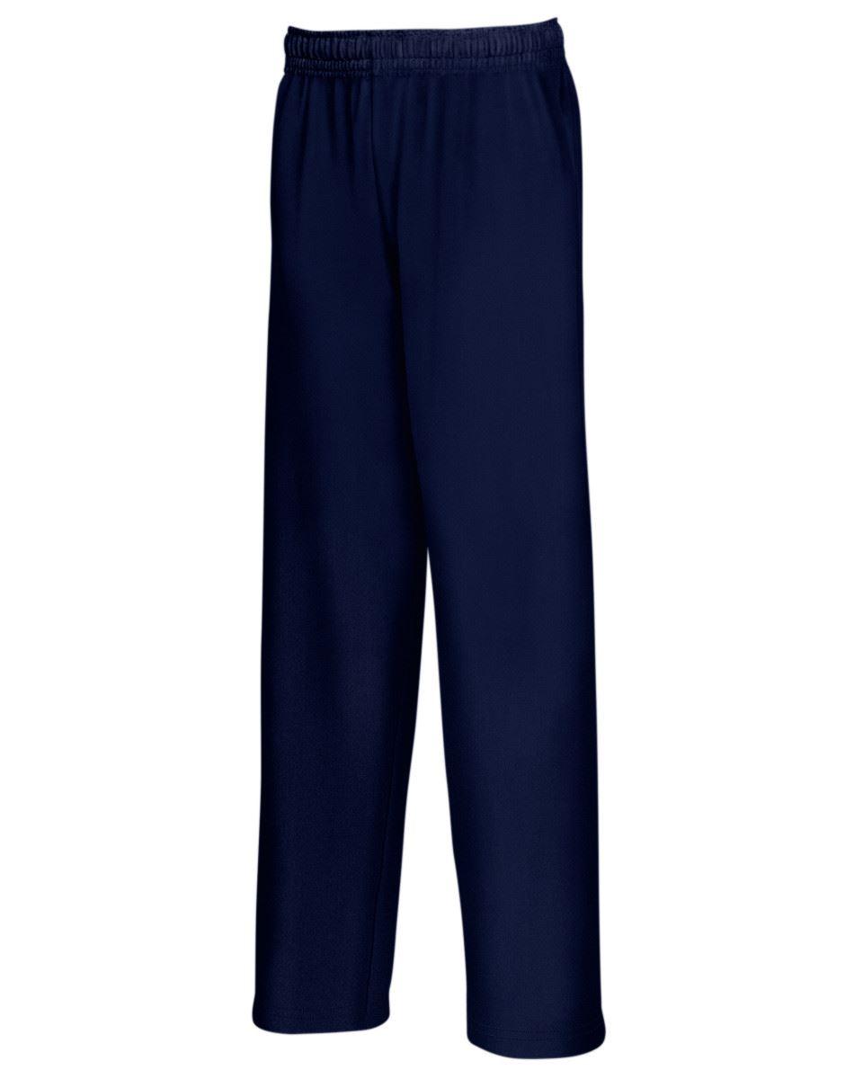 Fruit-of-the-Loom-Men-039-s-Lightweight-Open-Hem-Jog-Pants-Casual-Sweatpants-Bottoms thumbnail 3