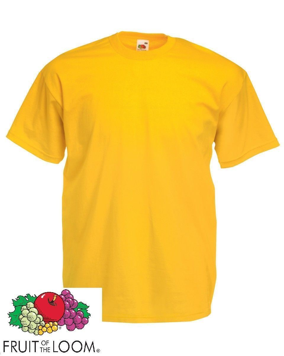 3-PACK-FRUIT-OF-THE-LOOM-Plain-T-Shirts-Unisex-Men-Women-T-Shirt-Tee-Shirt thumbnail 228
