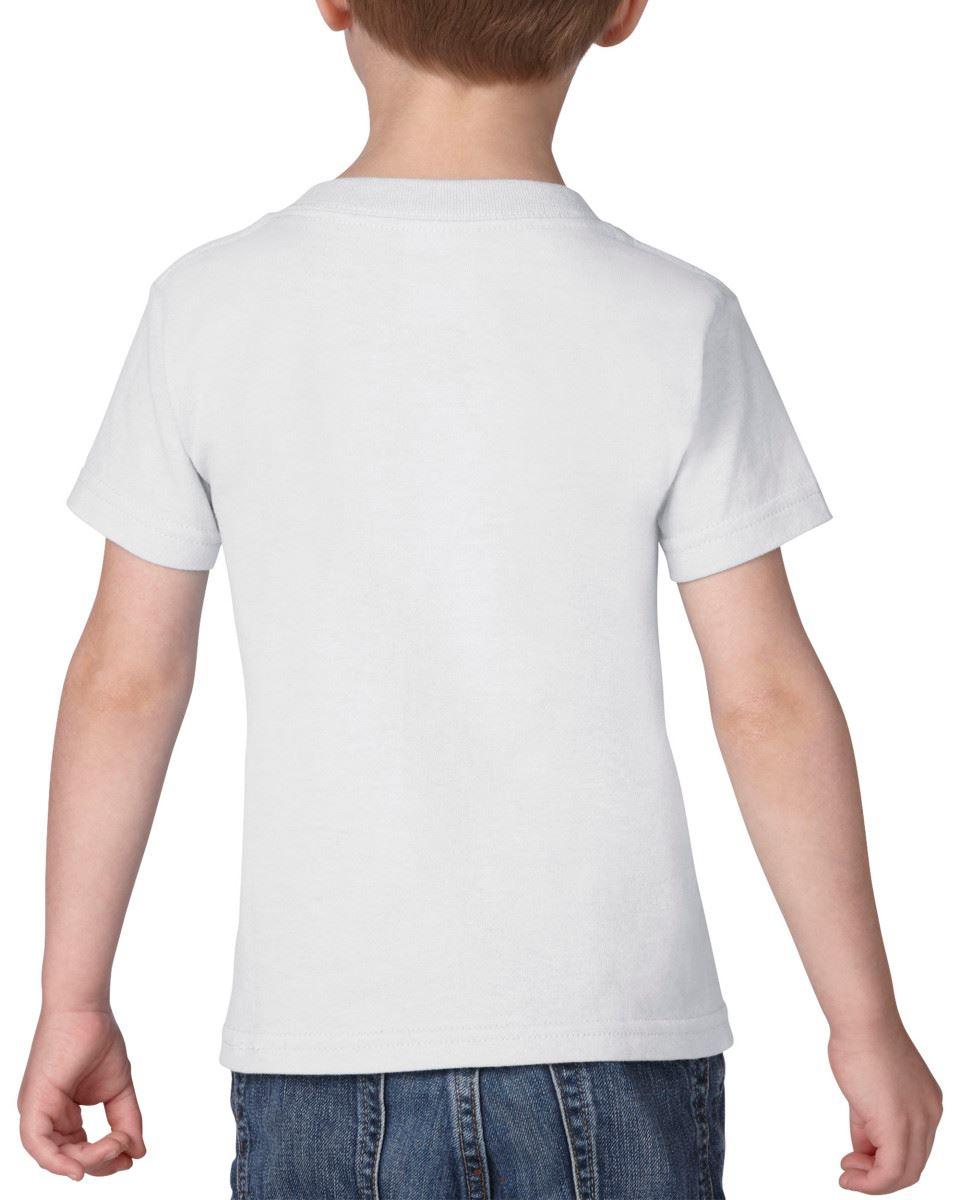 GILDAN-Childrens-Kids-Toddler-Heavy-Cotton-T-Shirts-T-Shirt-Tshirt-Tee-6-Colours thumbnail 5