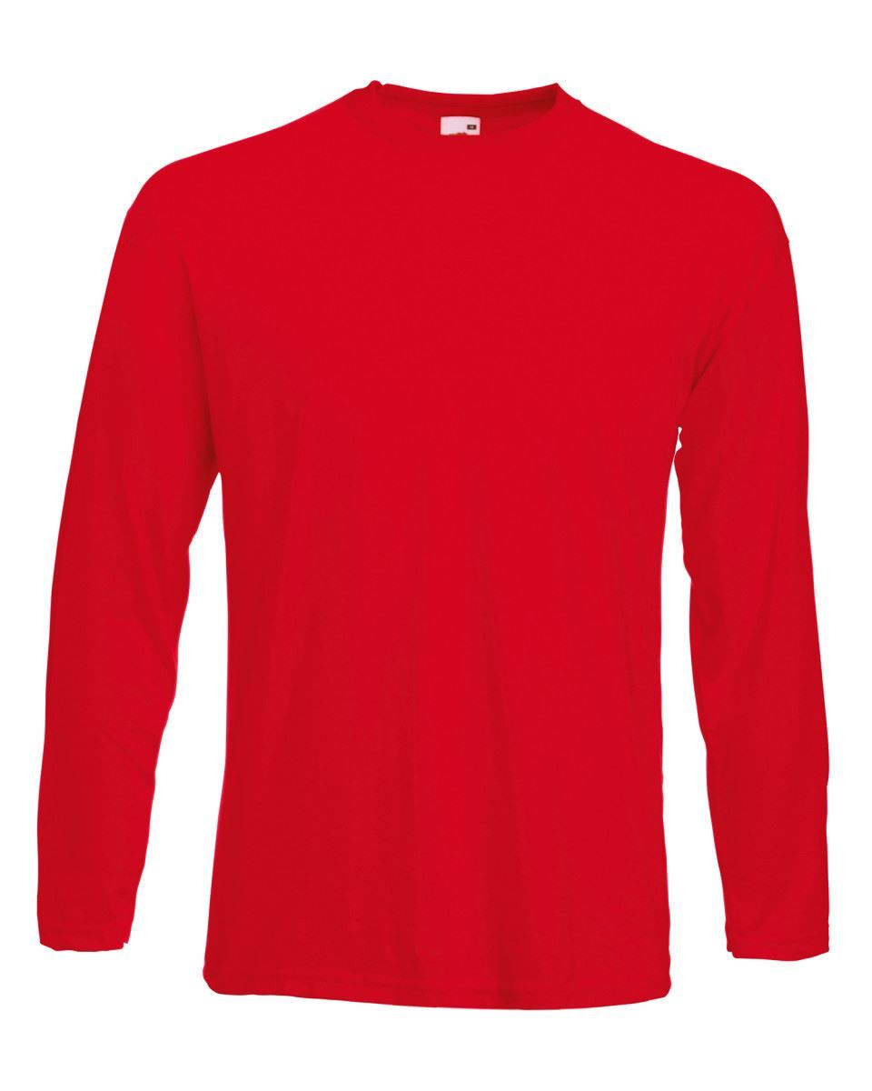 3-Pack-Men-039-s-Fruit-of-the-Loom-Long-Sleeve-T-Shirt-Plain-Tee-Shirt-Top-Cotton thumbnail 78