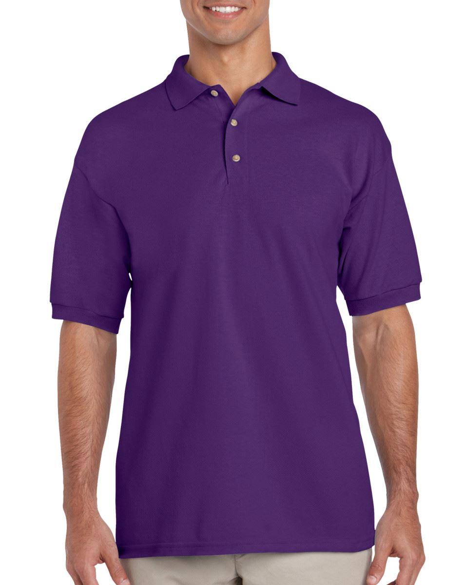 3-Pack-Gildan-Ultra-Cotton-Adult-Pique-Plain-Polo-Shirt-Tee-T-Shirt-Ringspun thumbnail 46