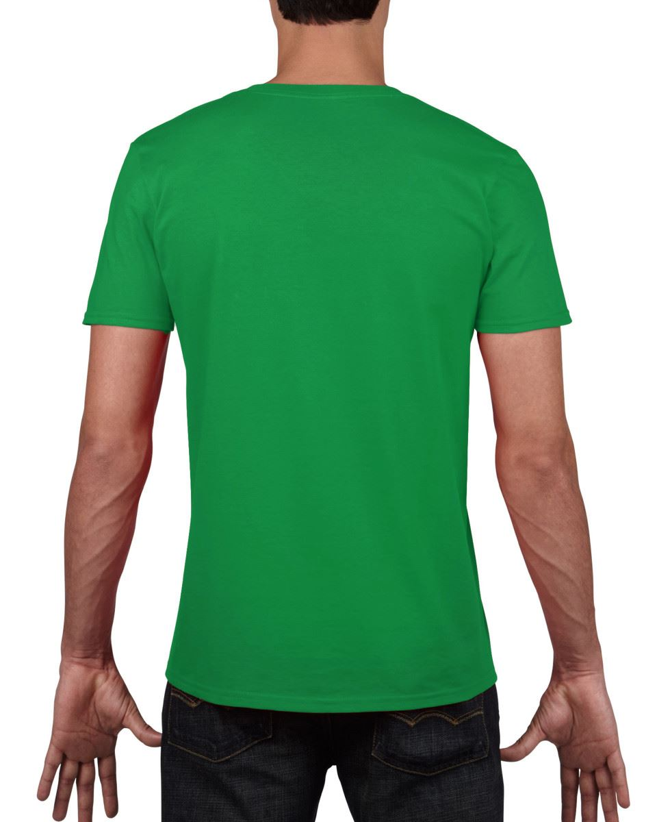 Gildan-Mens-Men-039-s-Soft-Style-Plain-V-Neck-T-Shirt-Cotton-Tee-Tshirt thumbnail 34