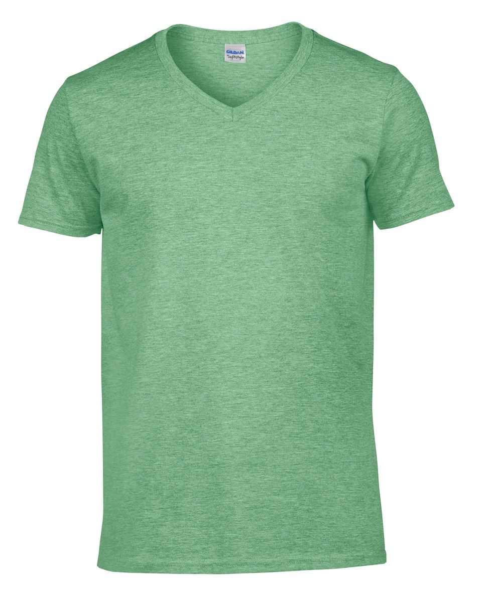 Gildan-Mens-Men-039-s-Soft-Style-Plain-V-Neck-T-Shirt-Cotton-Tee-Tshirt thumbnail 25