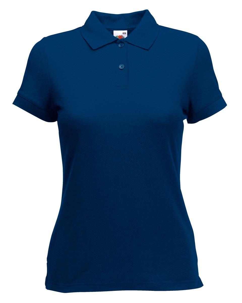 Fruit-Of-The-Loom-Ladies-Lady-Fit-Premium-Pique-Cadat-Collar-Polo-Shirts-T-shirt thumbnail 12