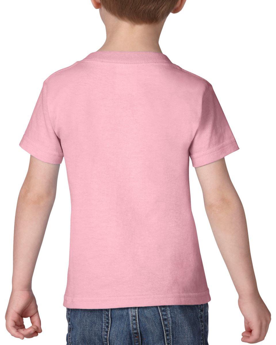 GILDAN-Childrens-Kids-Toddler-Heavy-Cotton-T-Shirts-T-Shirt-Tshirt-Tee-6-Colours thumbnail 11