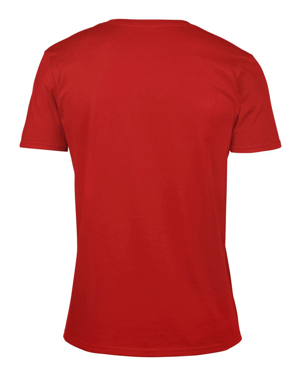 Gildan-Mens-Men-039-s-Soft-Style-Plain-V-Neck-T-Shirt-Cotton-Tee-Tshirt thumbnail 51