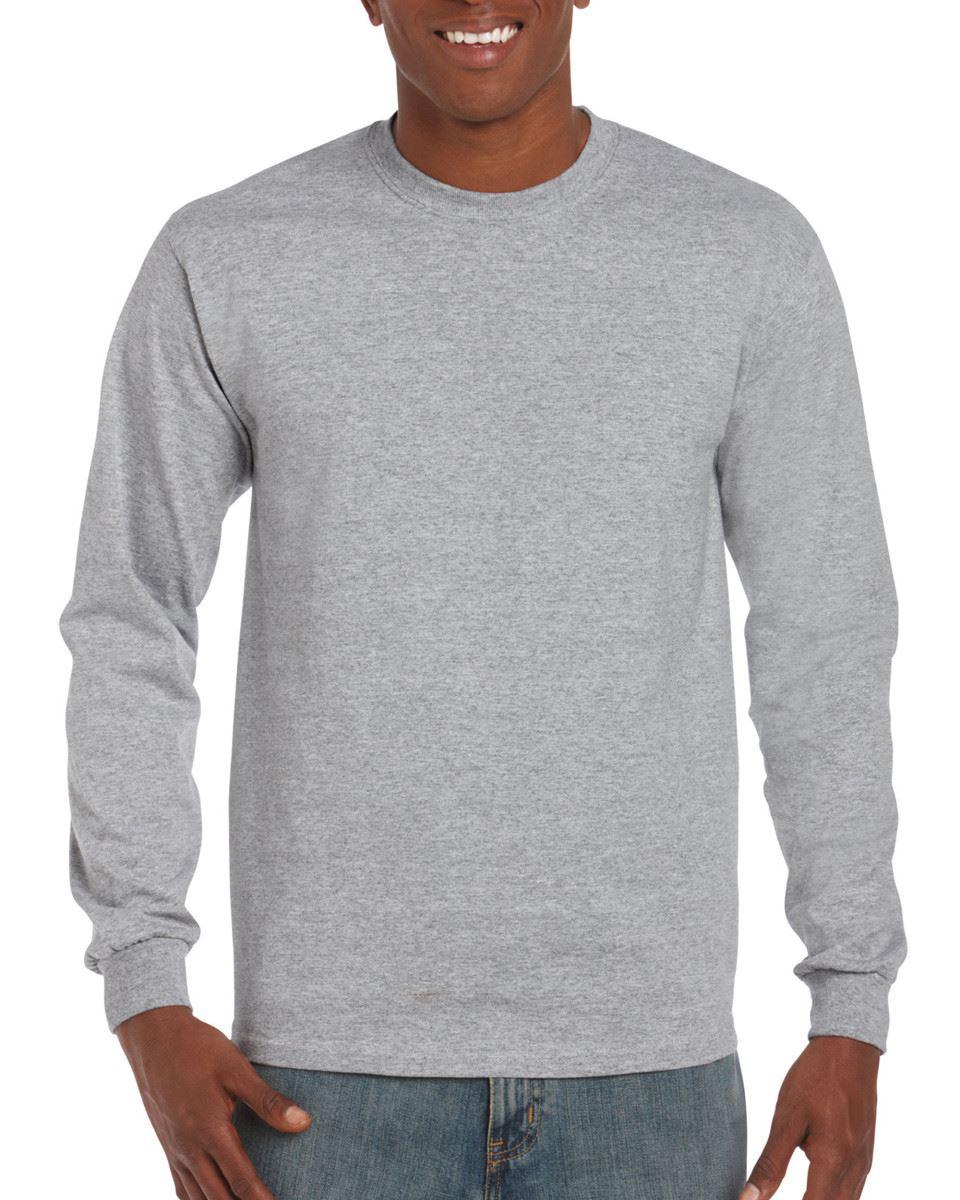 3-Pack-Gildan-Mens-Ultra-Cotton-Adult-Long-Sleeve-Plain-T-Shirt-Cotton-Tee-Shirt thumbnail 12