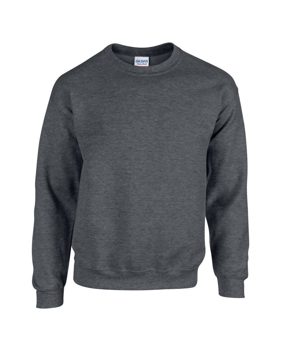 Gildan-Heavy-Blend-Adult-Crew-Neck-Pullover-Sweatshirt-Sweater-Workwear-Uniform thumbnail 67