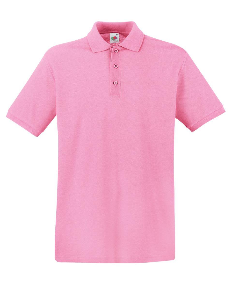 Mens-Polo-Shirts-Fruit-of-the-Loom-Premium-Polo-100-Cotton-Polo-Shirt-SS255 thumbnail 28