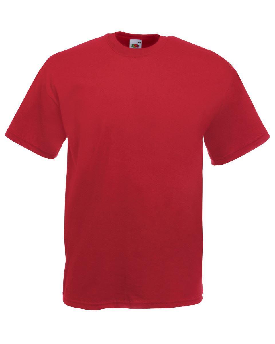 5-Pack-Men-039-s-Fruit-of-the-Loom-Plain-100-Cotton-Blank-Tee-Shirt-Tshirt-T-Shirt thumbnail 60