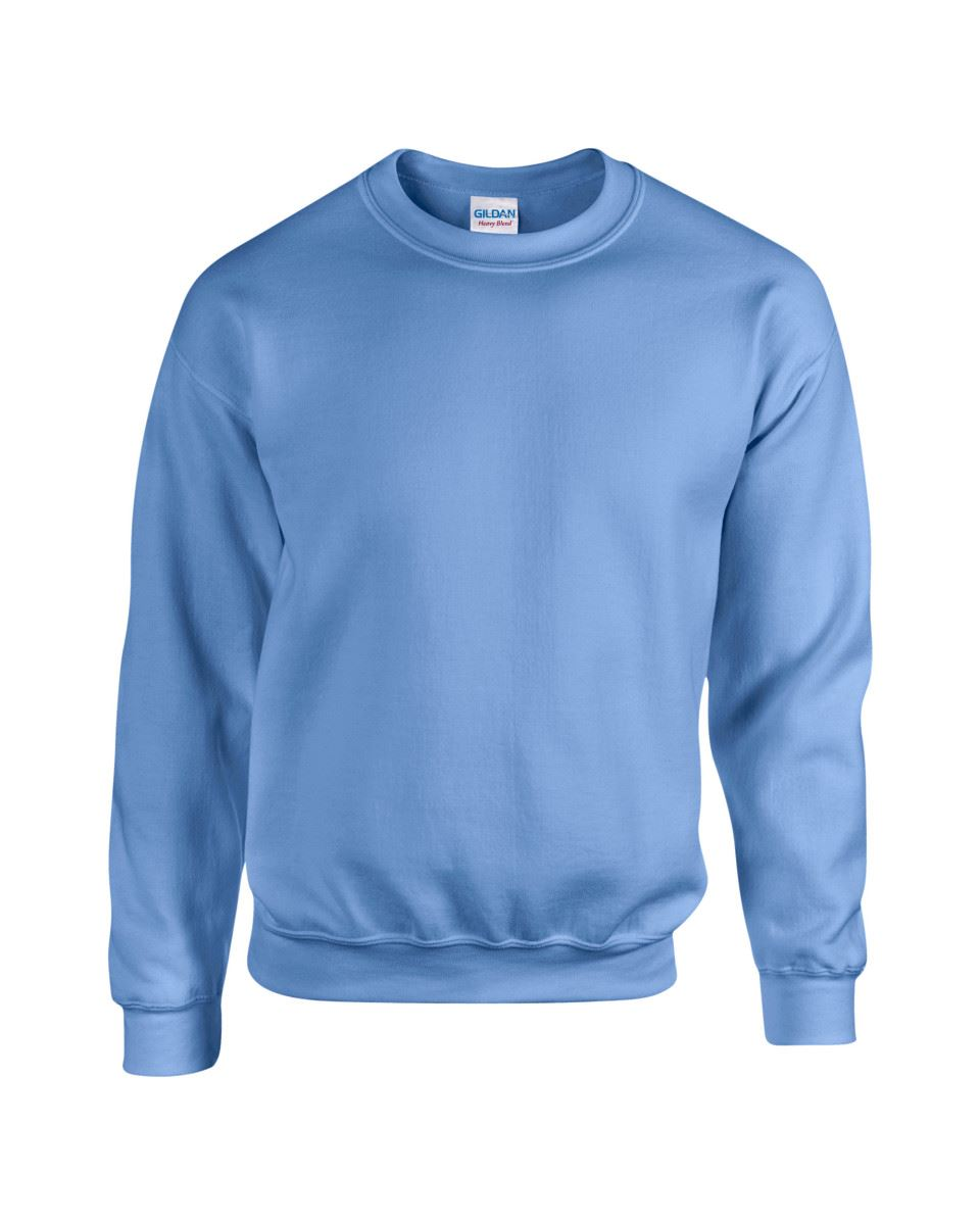 Gildan-Heavy-Blend-Adult-Crew-Neck-Pullover-Sweatshirt-Sweater-Workwear-Uniform thumbnail 47