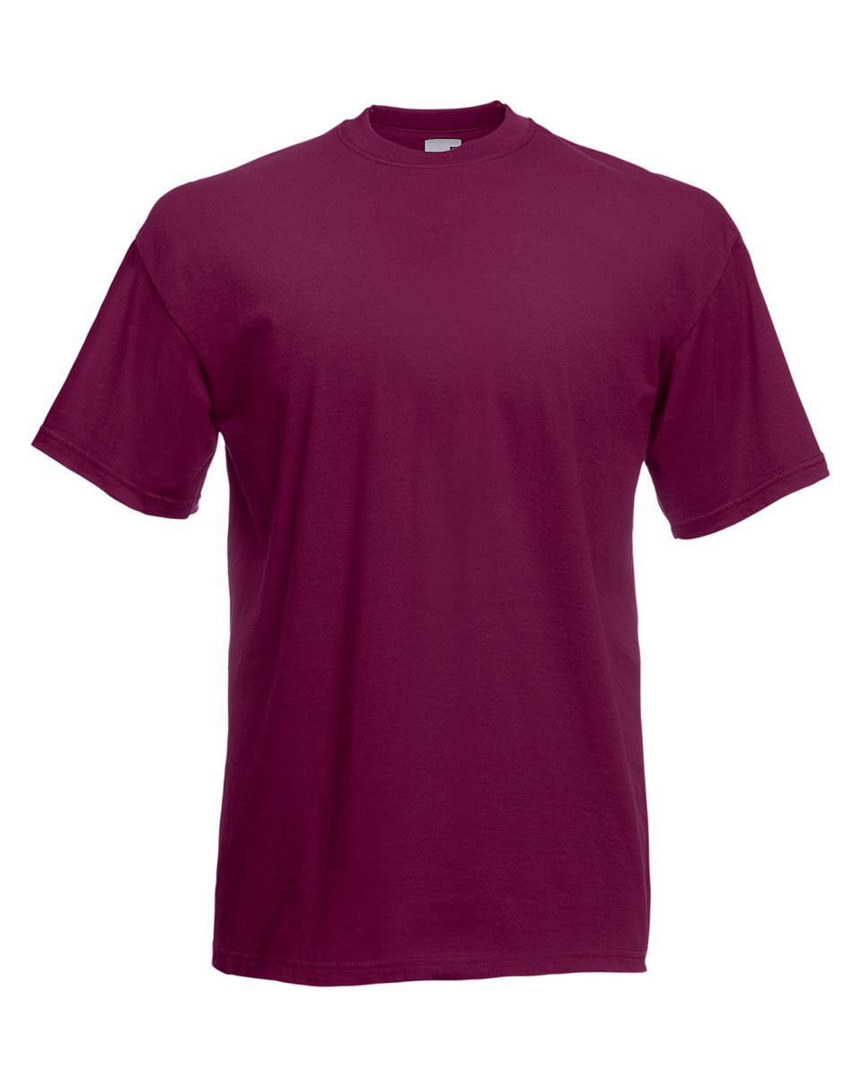 5-Pack-Men-039-s-Fruit-of-the-Loom-Plain-100-Cotton-Blank-Tee-Shirt-Tshirt-T-Shirt thumbnail 72