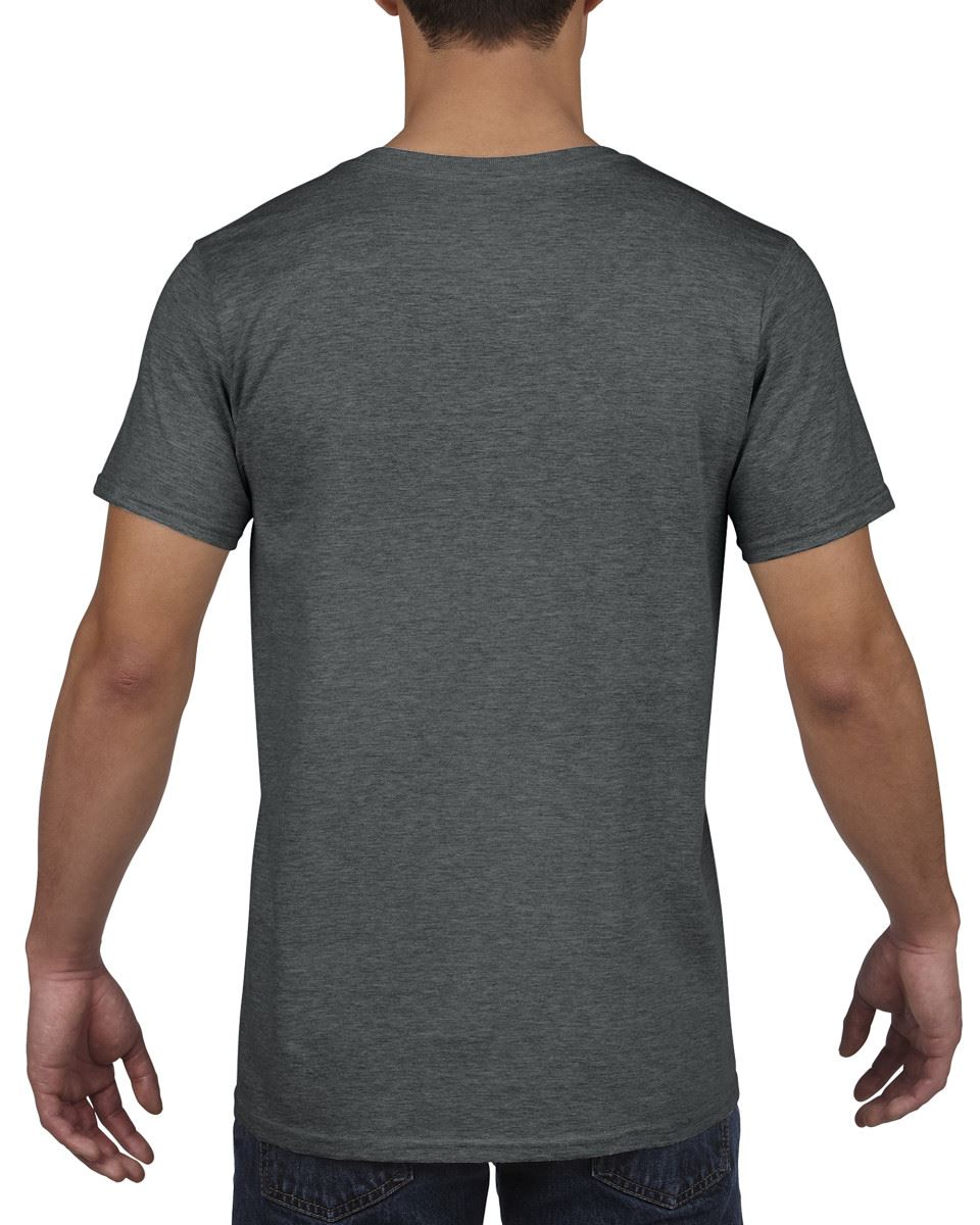 Gildan-Mens-Men-039-s-Soft-Style-Plain-V-Neck-T-Shirt-Cotton-Tee-Tshirt thumbnail 19