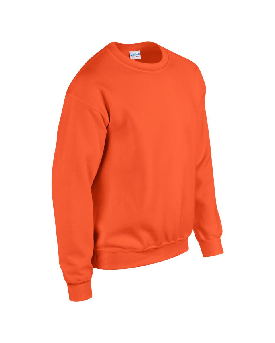 Gildan-Heavy-Blend-Adult-Crew-Neck-Pullover-Sweatshirt-Sweater-Workwear-Uniform thumbnail 130