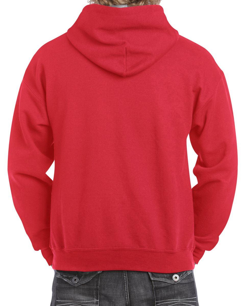 Gildan-Heavy-Blend-Plain-Contrast-Hooded-Sweatshirt-Hoodie-Sweat-Hoody-Jumper thumbnail 27