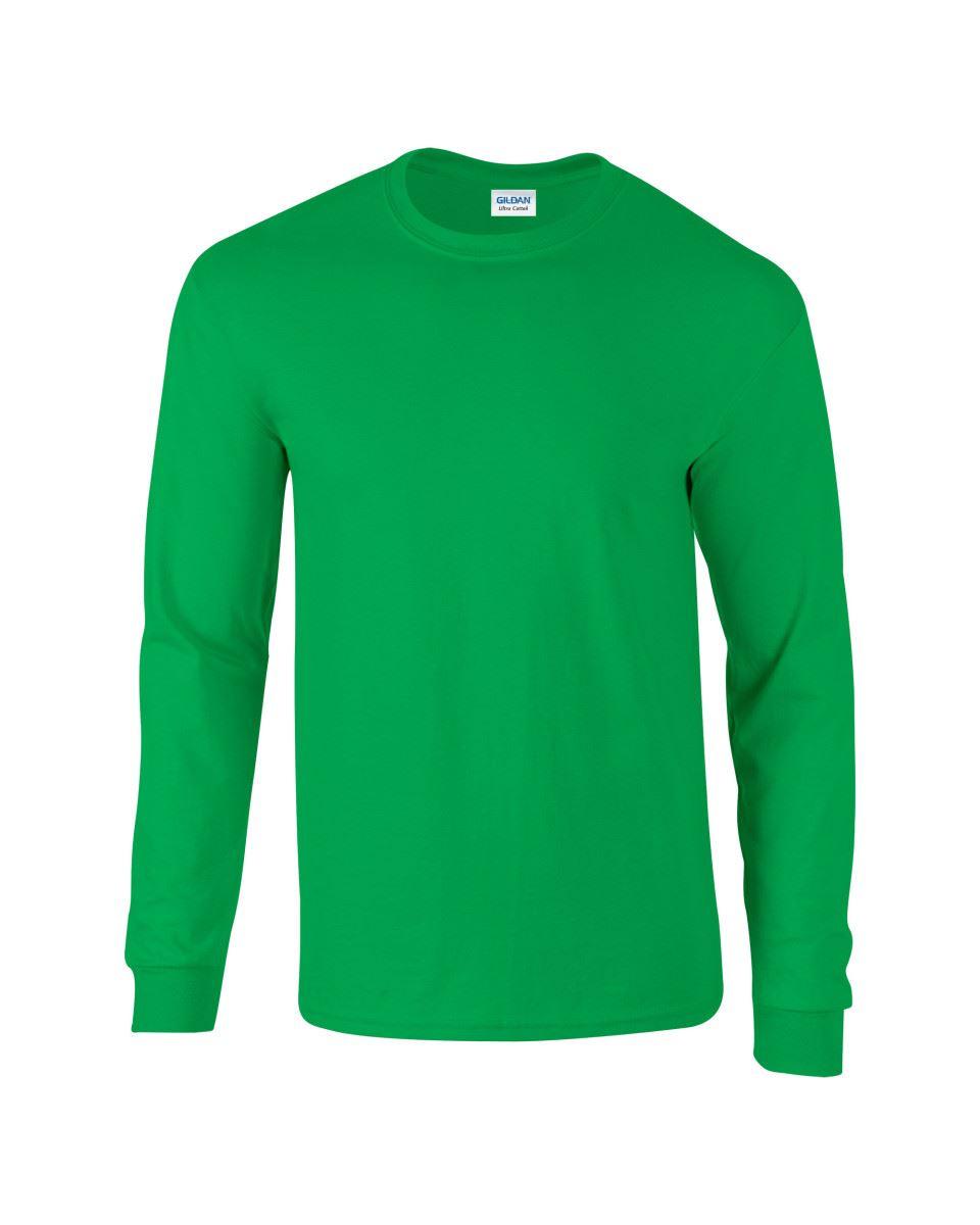 Gildan-Mens-Ultra-Cotton-Adult-Long-Sleeve-Plain-T-Shirt-Tshirt-Cotton-Tee-Shirt thumbnail 75