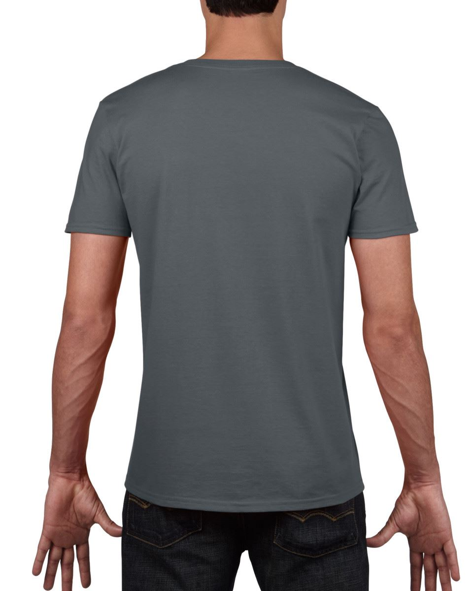 Gildan-Mens-Men-039-s-Soft-Style-Plain-V-Neck-T-Shirt-Cotton-Tee-Tshirt thumbnail 14