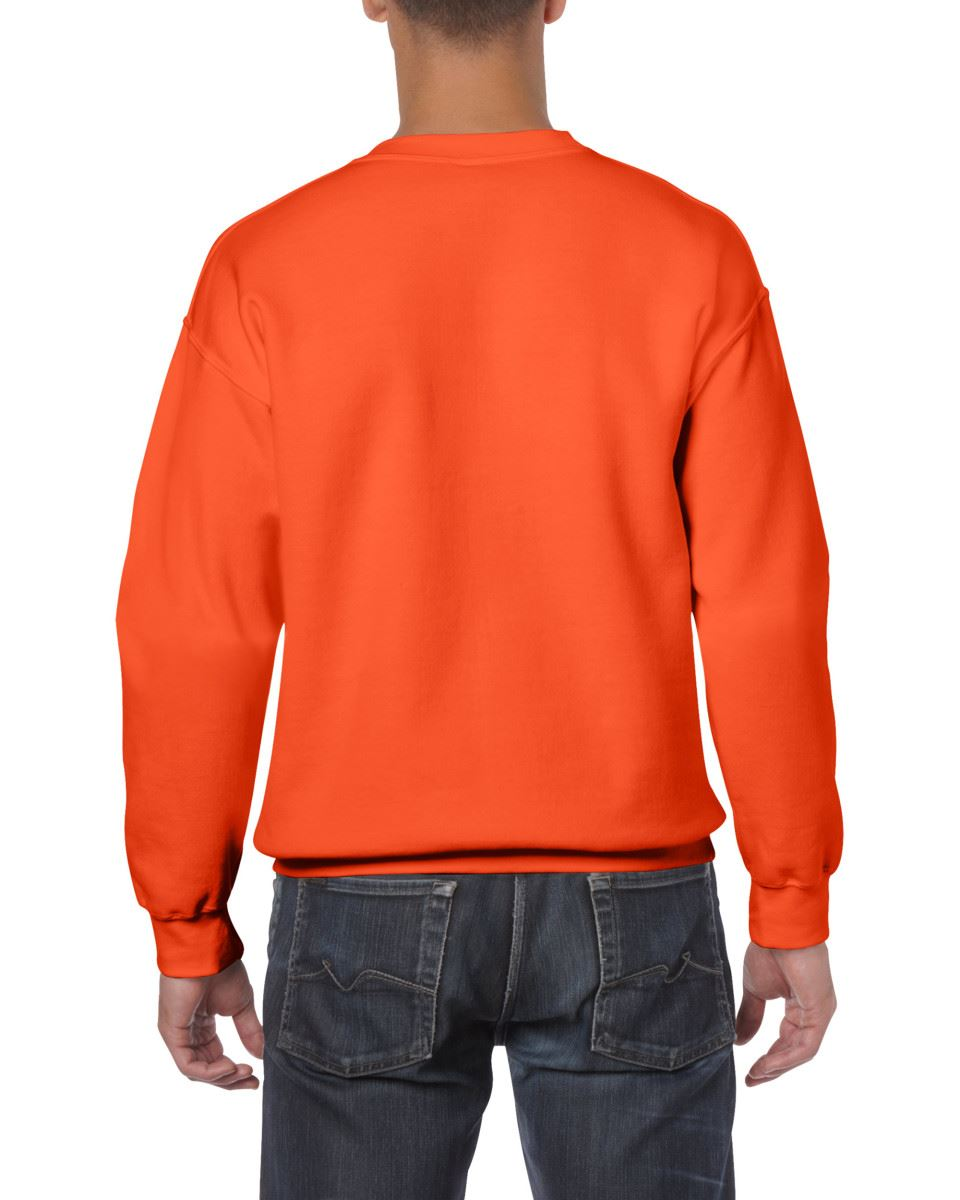 Gildan-Heavy-Blend-Adult-Crew-Neck-Pullover-Sweatshirt-Sweater-Workwear-Uniform thumbnail 128