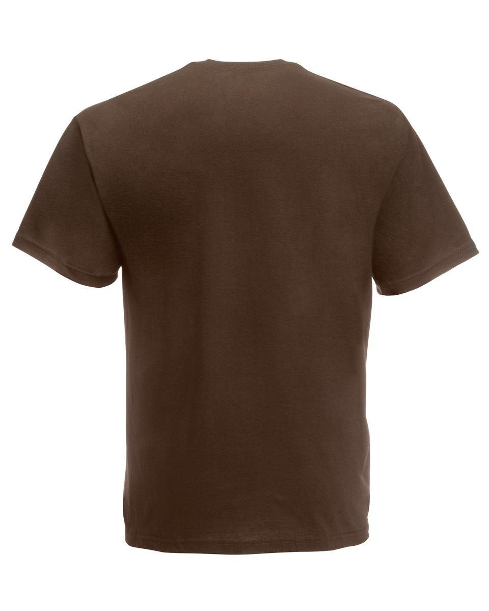 Fruit-of-the-Loom-Super-Premium-T-Shirt-Heavy-Cotton-Blank-Tee-Shirt-S-XXXL Indexbild 13
