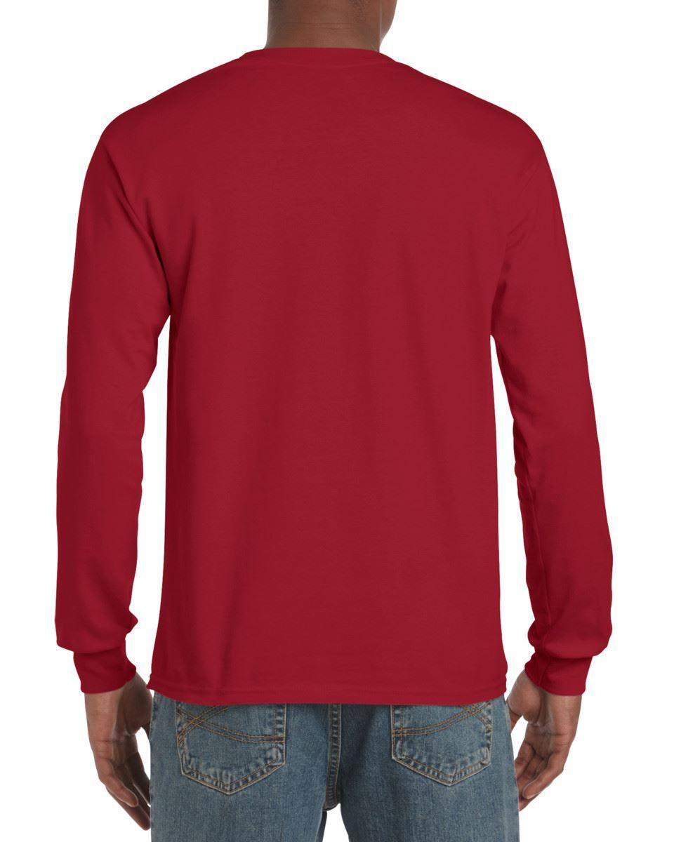 Gildan-Mens-Ultra-Cotton-Adult-Long-Sleeve-Plain-T-Shirt-Tshirt-Cotton-Tee-Shirt thumbnail 39
