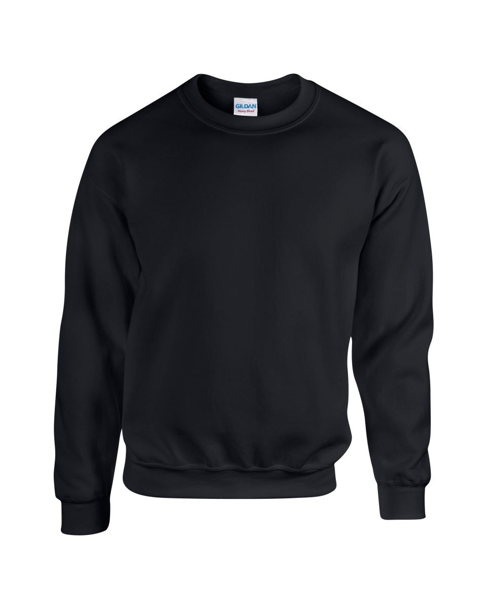 Gildan-Heavy-Blend-Adult-Crew-Neck-Pullover-Sweatshirt-Sweater-Workwear-Uniform thumbnail 10