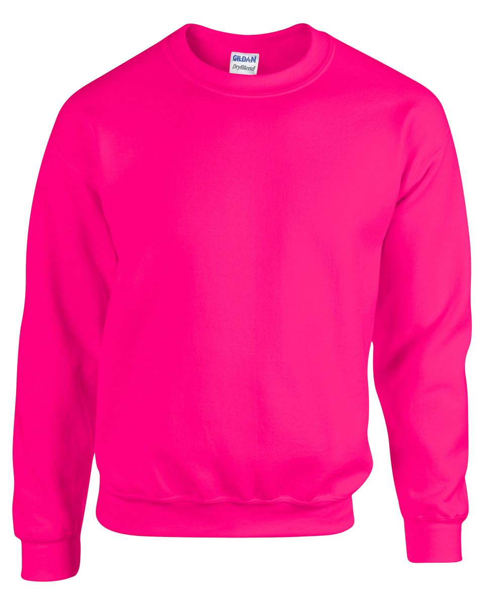 Gildan-Heavy-Blend-Adult-Crew-Neck-Pullover-Sweatshirt-Sweater-Workwear-Uniform thumbnail 143